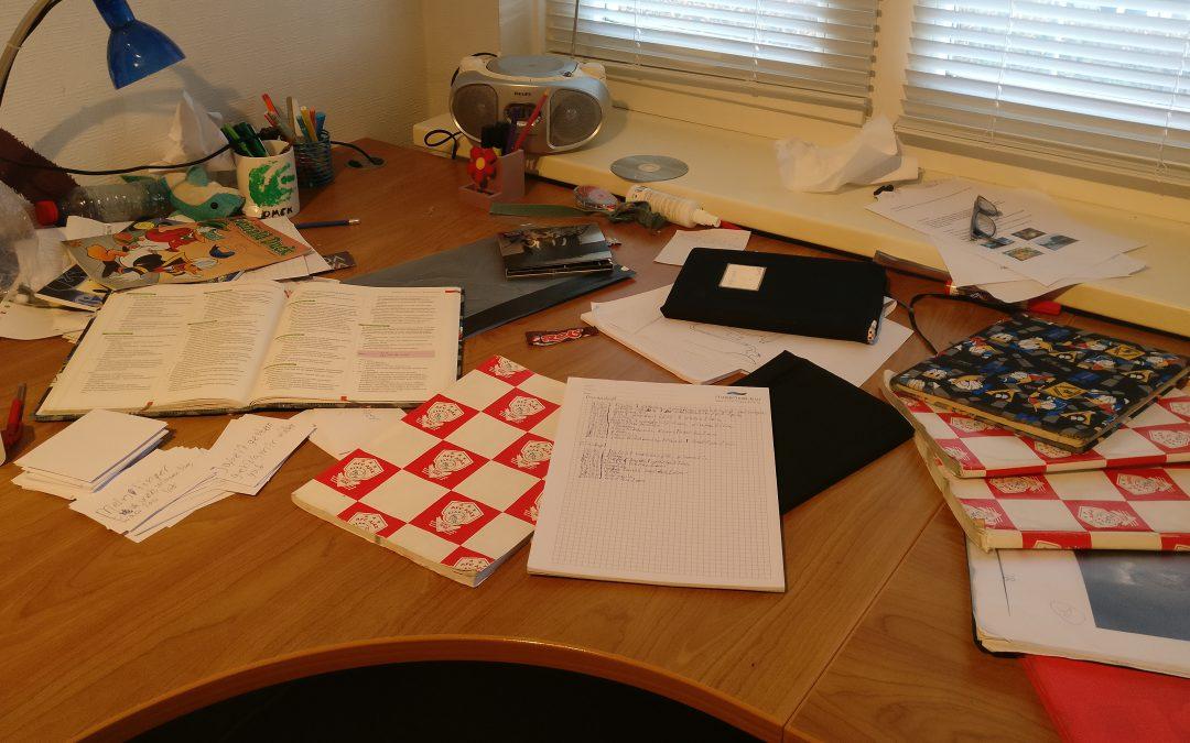 Huiswerk maken in de vakantie???